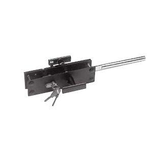 Cylinder lock, surface- mounted