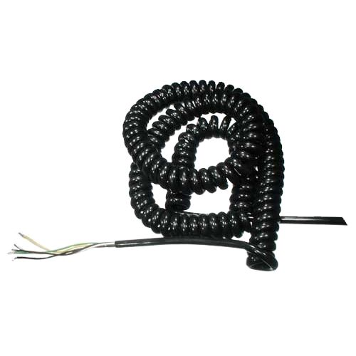 Spiral cable, short, 10 pieces