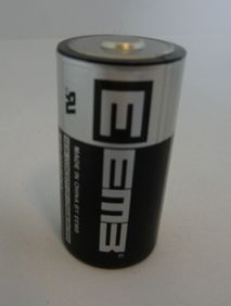 Battery for wireless safety edge