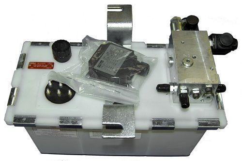 Hydrauliek aggregaat, 2 ventielen, 0,75KW