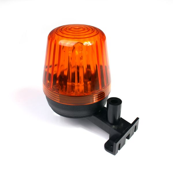 Flashing light orange LED