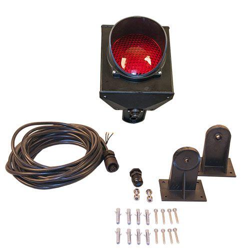 Traffic light RED, LED 230V